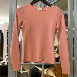 Chanel fine wool knit long sleeve Crew neck